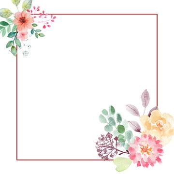 flower wedding gradient watercolor , Card, Fresh, Wedding Фоновый рисунок