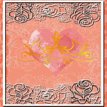 Red western food menu restaurant Cover Red Flaming Imagem Do Plano De Fundo