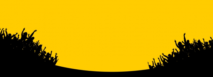 yellow character silhouette poster background, Yellow, Character, Silhouette Background image