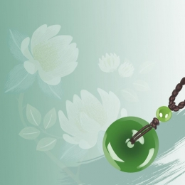jade ring antique chinese style ppt , Style, Texture, Ppt Hintergrundbild
