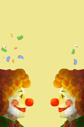 april fools day poster background template april fools day clown , Day, April Fools Day, Fool's Imagem de fundo