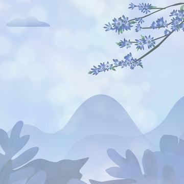 चीनी शैली चीनी शैली पृष्ठभूमि स्याही स्याही पृष्ठभूमि , पेंटिंग, पवन, पंखुड़ी पृष्ठभूमि छवि