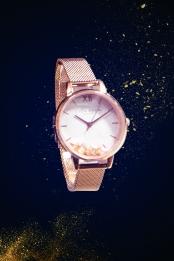 Black minimalist luxury watch poster background material , Black, Simple, Luxury Background image