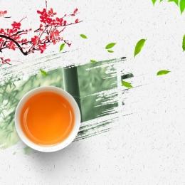 Spring Tea Festival Chinese style background tea tea set Spring Tea Festival Imagem Do Plano De Fundo