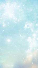 नीली बैंगनी स्वप्निल चोंच , तत्व, बैंगनी, नीला पृष्ठभूमि छवि