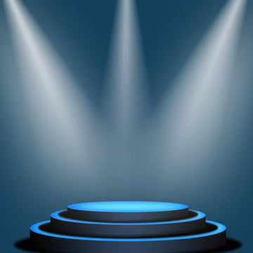 Blue Stage Lighting Material Background, Blue, Chasing Light, Stage, Background image