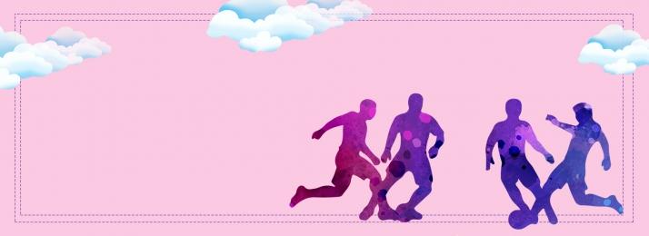 Sports running playing high jump Campus Sports Campus Imagem Do Plano De Fundo