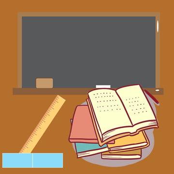 Cartoon background school supplies education master blackboard Supplies School Supplies Imagem Do Plano De Fundo