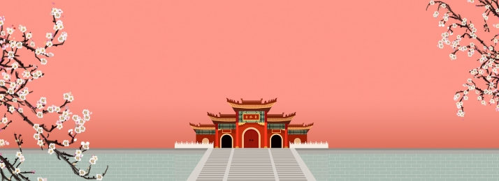 chinese style chinese painting ancient architecture life, Chinese, Chinese Painting, Life Hintergrundbild