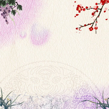 中国風の背景 新鮮でエレガントな 霊芝 花の背景 , 花の背景, 健康, 淘宝網 背景画像
