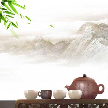 中国風の背景 軒 蓮 蓮の葉 , ブラシ, 電車の中, メイン画像 背景画像