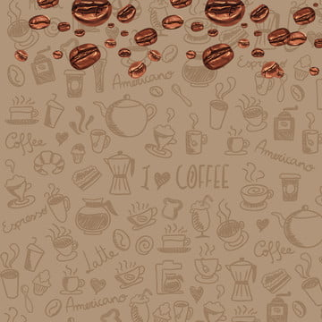 coffee advertisement poster background , Coffee, Advertisement, Coffee Beans Фоновый рисунок
