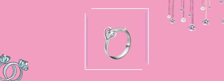 diamond ring jewelry ppt wedding, Material, Jewelry Background, Diamond Ring Фоновый рисунок