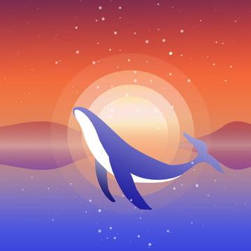 डॉल्फिन शाम का दृश्य समुद्री परिदृश्य समुद्री परिदृश्य , प्रकृति के दृश्य, पोस्टर, पोस्टर पृष्ठभूमि पृष्ठभूमि छवि