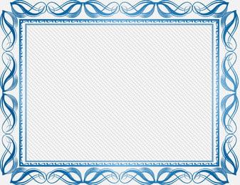 european simple crown olive branch, Certificate, Crown, European Фоновый рисунок