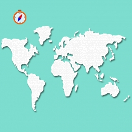 ताजा सरल हरा दुनिया का नक्शा , दुनिया का नक्शा, ताजा, कम्पास पृष्ठभूमि छवि