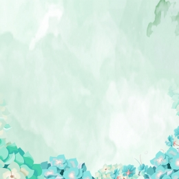 Watercolor background green plant leaves White Fresh Watercolor Фоновое изображение