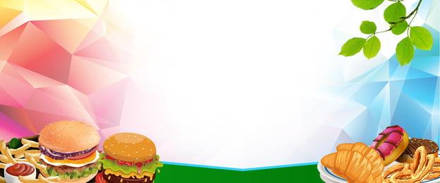 ज्यामितीय ढाल पेटू बर्गर बेंटो, बेंटो, टेकअवे फ्लायर, फास्ट फूड ऑर्डर पृष्ठभूमि छवि