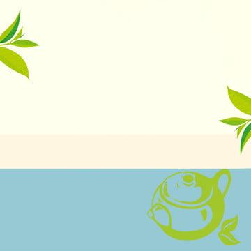 bối cảnh nền màu xanh lá cây tươi , Hương Vị, Trà, Nền Ảnh nền