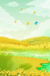 green nature poster background , Nature, Green, Green Background ภาพพื้นหลัง