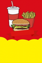 hamburg fast food anniversary leaflet photo download burger fast food cola , Material, Anniversary, Red Imagem de fundo