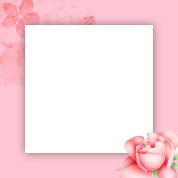 シンプル ピンクの背景 小さな新鮮な花の背景 ジュエリープロモーション , ジュエリープロモーションメインマップ, イベントプロモーション, ホリデープロモーション 背景画像