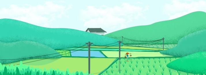 landscape illustration free download, Landscape Illustration Free Download, Ai, Pink Background Background image