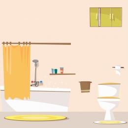 dễ thương màu hồng nhà vệ sinh nhà , Thương, Sinh, Dễ Ảnh nền