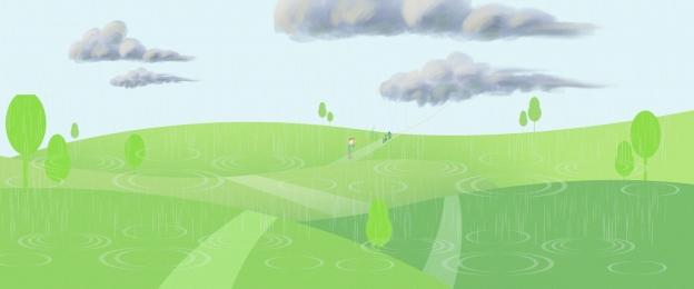 雨 雨滴 水の波 天気予報 ポスターの背景 雨 水の波 背景画像