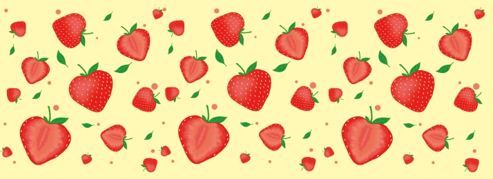 pngtree red simple strawberry women s poster banner image 139515