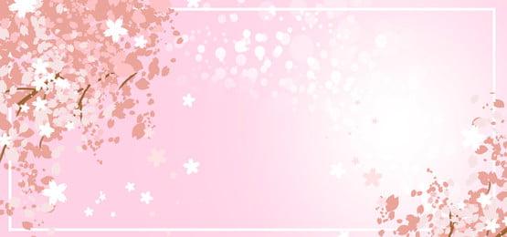 lãng mạn hoa anh đào poster nền, Hoa Anh đào, Nền Sakura, đào Ảnh nền