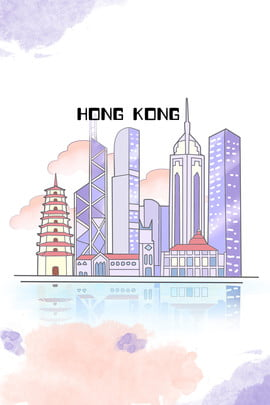 lãng mạn hong kong du lịch ấn tượng , Sáng, ấn, Poster Ảnh nền