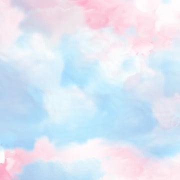 romantic pink sky beautiful , Beautiful, Fresh, Artistic Concept Фоновый рисунок