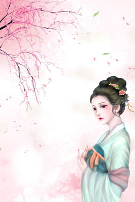 sansheng iii शिली पीच ब्लॉसम रोमांटिक सौंदर्य पृष्ठभूमि , सफेद, रोमांटिक, ब्लॉसम पृष्ठभूमि छवि