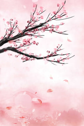 sansheng sanshi shili peach blossom ancient town simple pagoda , Shili Peach Blossom, Pagoda, Sansheng पृष्ठभूमि छवि