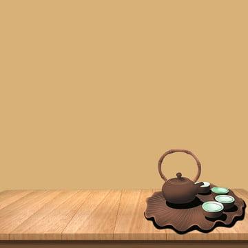 シンプルな背景 趣のある背景 中国風の背景 木の板 , 趣のある背景, 緑茶, ウーロン茶 背景画像