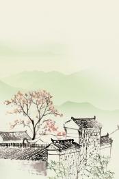 jiangnan छाप xanadu पानी jiangnan jiangnan दृश्यों , पानी Jiangnan, प्राचीन शहर, याद पृष्ठभूमि छवि