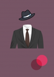 Simple man man suit Men S Circle Imagem Do Plano De Fundo