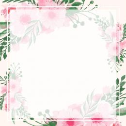 シンプルで小さな 新鮮な手描きの花 ロマンス メインマップの背景 , メインマップの背景, 淘宝網メインマップ, シンプルな小さな新鮮な手描きの花の背景プロモーションメインマップ 背景画像