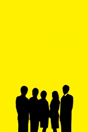 simple yellow flat workplace h5 , Simple, Yellow, Photography Background image