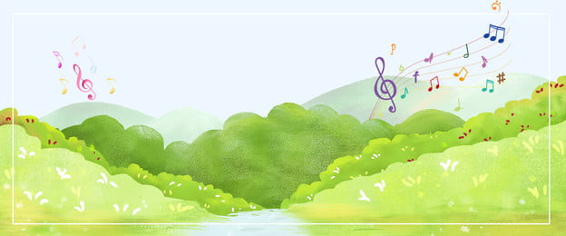 small fresh small fresh childlike background musical notes concert, Fun, Fresh, Small Фоновый рисунок