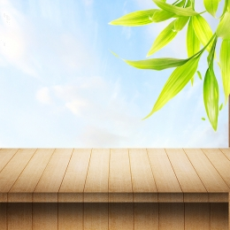 spring small fresh wooden board psd layered main picture background material , Spring, Blue Sky, Grass Background image