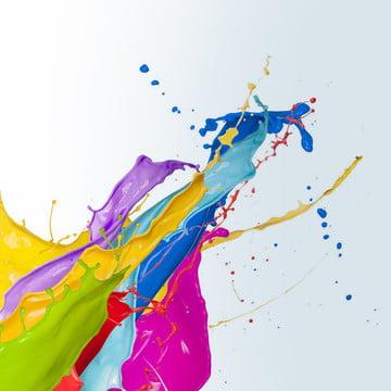 fashion color paint splash , Stylish, Home Improvement, Color Imagem de fundo