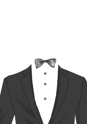 suit kinh doanh thương mại nơ , Kinh, Suit, áo Sơ Mi Ảnh nền