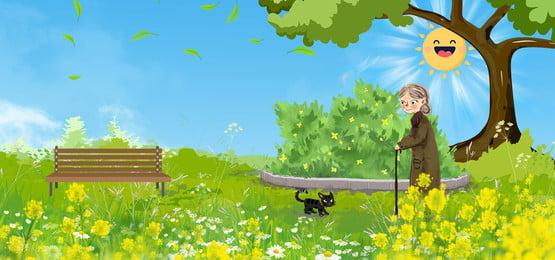 背景 日光の背景 庭の背景 咲く, 幸せ, 背景画像, 庭の背景 背景画像