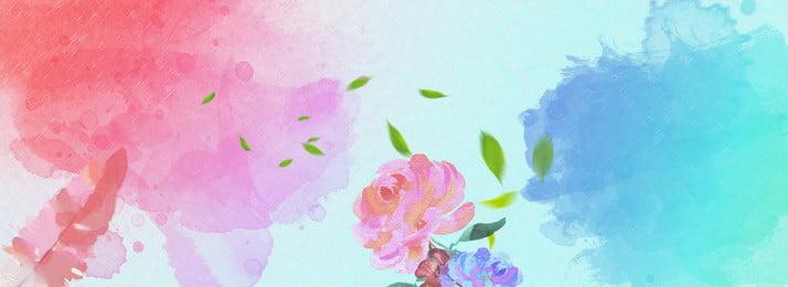 春裝 粉色系 唯美 spring, 淘寶春季女裝banner, Spring, 護膚 背景圖片