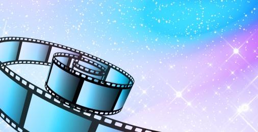 Vector cartoon illusion film Creative Cartoon Illusion Hintergrundbild