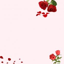 tmall新しいスタイル バラ ロマンス メイン画像の背景 , 淘宝網の背景, ピンク, メイン画像の背景 背景画像
