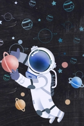 vector illustrator technology astronaut , Creative, Tech, Technology Imagem de fundo