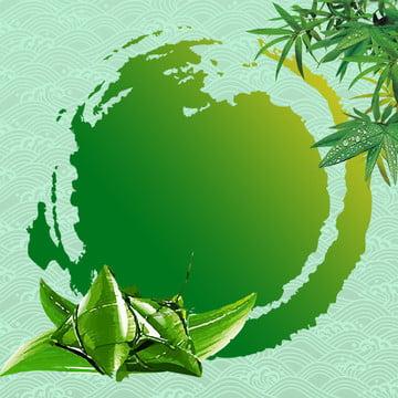 復古 祥雲 紋理 端午 , 墨跡, 復古, 綠葉 背景圖片